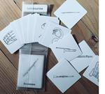Musical Instrument 3-part Cards in Pocket