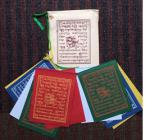 8PP Tiny Paper Tibetan Prayer Flags